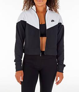 Women's Nike Sportswear Crop Heritage Track Jacket