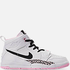 Girls' Little Kids' Air Jordan Legacy 312 Off-Court Shoes