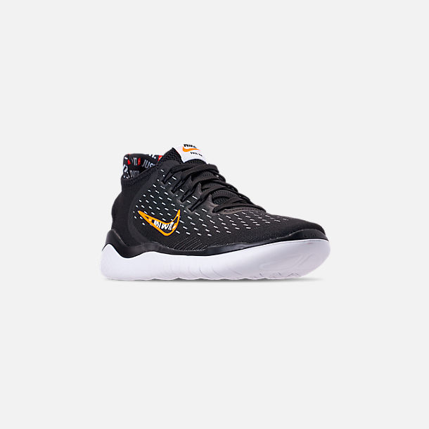 Three Quarter view of Men's Nike Free RN 2018 JDI Running Shoes