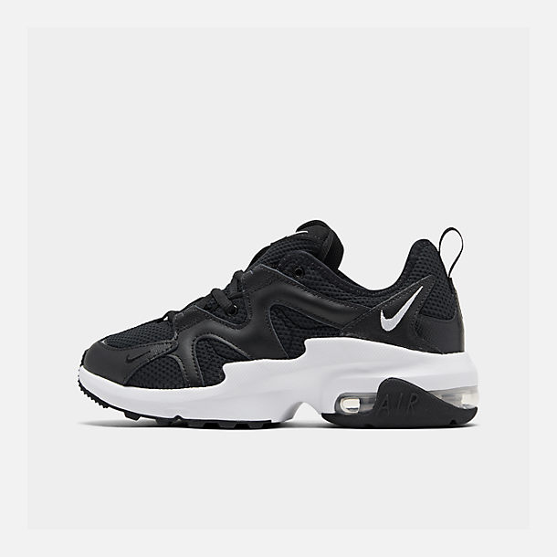 best loved 4cfa6 c71ae Right view of Women s Nike Air Max Graviton Casual Shoes in Black White