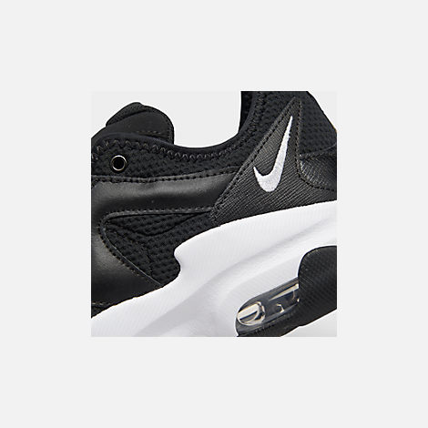 hot sale online 9408f 177ed Front view of Women s Nike Air Max Graviton Casual Shoes in Black White