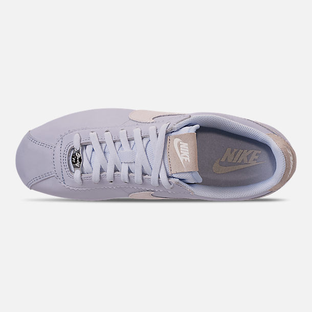 2068d4cce1fb Top view of Women s Nike Classic Cortez 90 Premium Casual Shoes in Half Blue  Summit