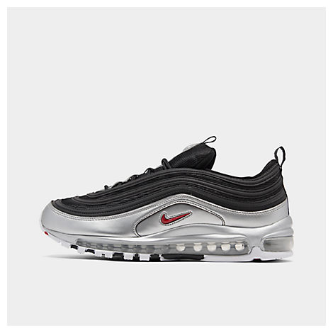 Nike Air Max 97 Qs Faux Leather And Mesh Sneakers Black In