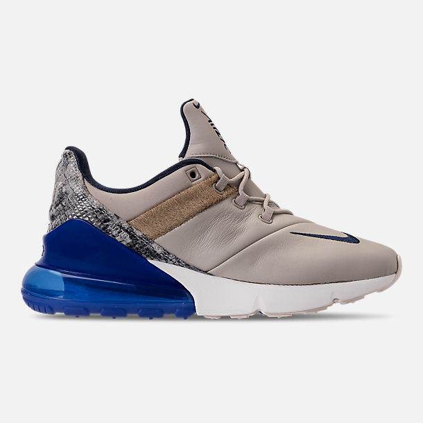 Right view of Men's Nike Air Max 270 SOF Casual Shoes in Obsidian/Hyper Royal/Sail/String