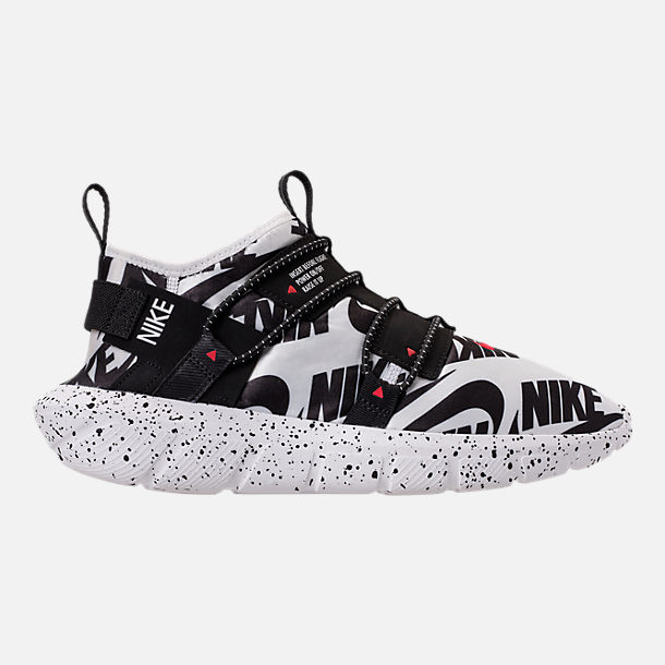 Right view of Men s Nike Vortak Mono Casual Shoes in White Black University  Red 44a71047d59e