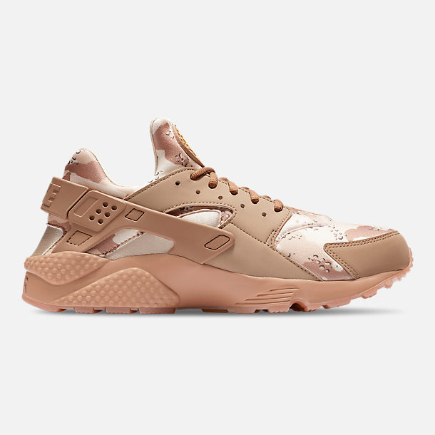 outlet store 6161d fab1b Right view of Mens Nike Air Huarache Run Camo Casual Shoes in Desert  OreCanteen