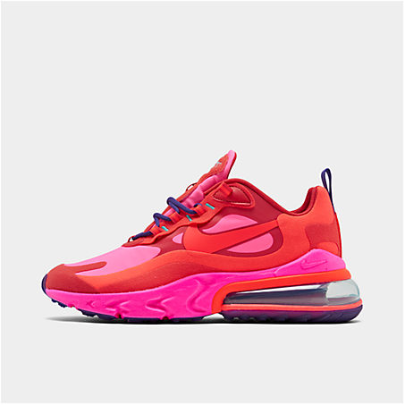 Nike Shoes NIKE WOMEN'S AIR MAX 270 REACT CASUAL SHOES IN RED SIZE 11.0