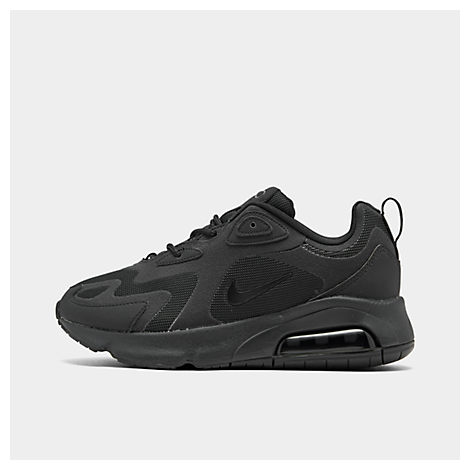 Nike Women's Air Max 200 Casual Shoes, Black - Size 11.0