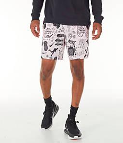 020df0084dc6 Men s Nike Flex Stride Nathan Bell 7 Inch Printed Running Shorts