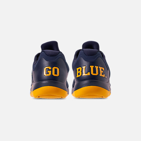42a04d5085513f Back view of Men s Jordan Grind 2 Michigan Wolverines Running Shoes in  College Navy Amarillo
