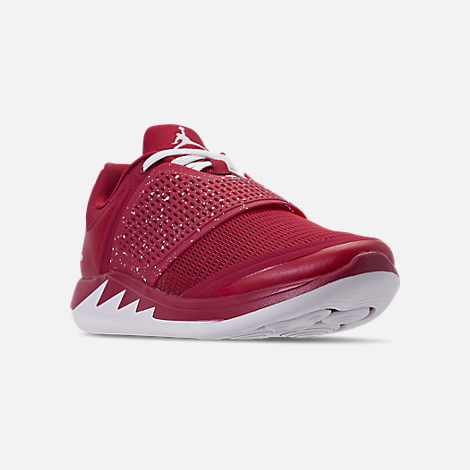 c945f6b7ee5a2b Three Quarter view of Men s Jordan Grind 2 Oklahoma Sooners Running Shoes  in Red Crush