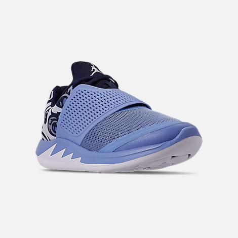 more photos a3583 2f4e5 Three Quarter view of Men s Jordan Grind 2 UNC Tar Heels Running Shoes in  Valor Blue