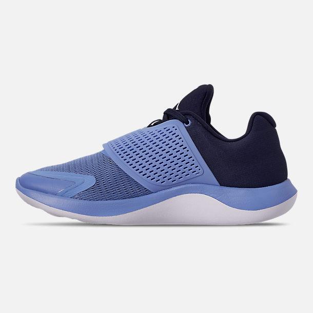 new style 7bf50 c3b33 Left view of Men s Jordan Grind 2 UNC Tar Heels Running Shoes in Valor Blue