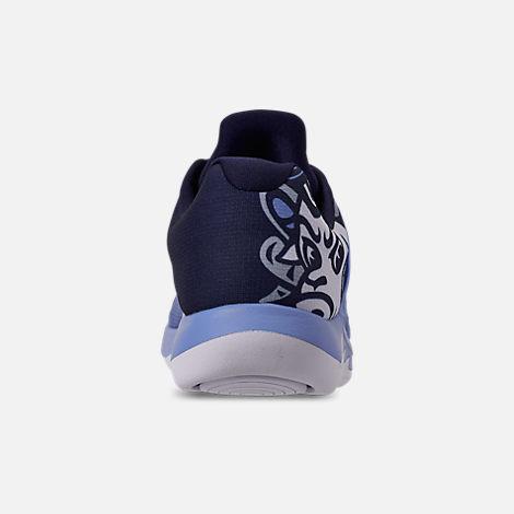 e53bd7bda1e882 Back view of Men s Jordan Grind 2 UNC Tar Heels Running Shoes in Valor Blue