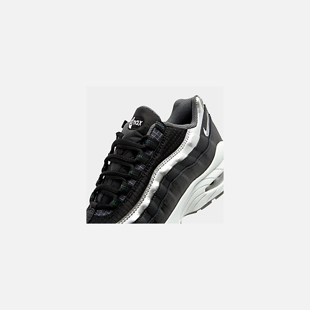 888230ef33548 Front view of Boys' Big Kids' Nike Air Max 95 Y2K Casual Shoes in