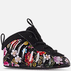 Girls' Infant Nike Little Posite One Crib Booties