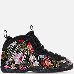 Girls' Little Kids' Nike Little Posite One Basketball Shoes
