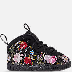Girls' Toddler Nike Little Posite One Basketball Shoes