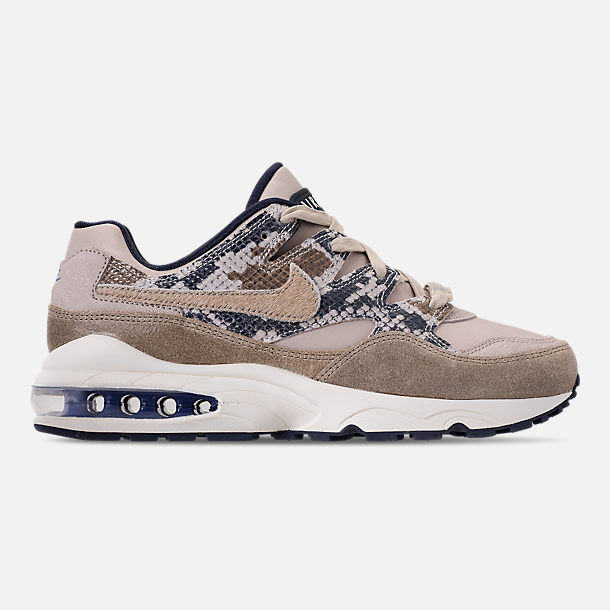 Right view of Men's Nike AIr Max 94 SOF Casual Shoes in Newsprint/String/Canteen/Cirrus Blue