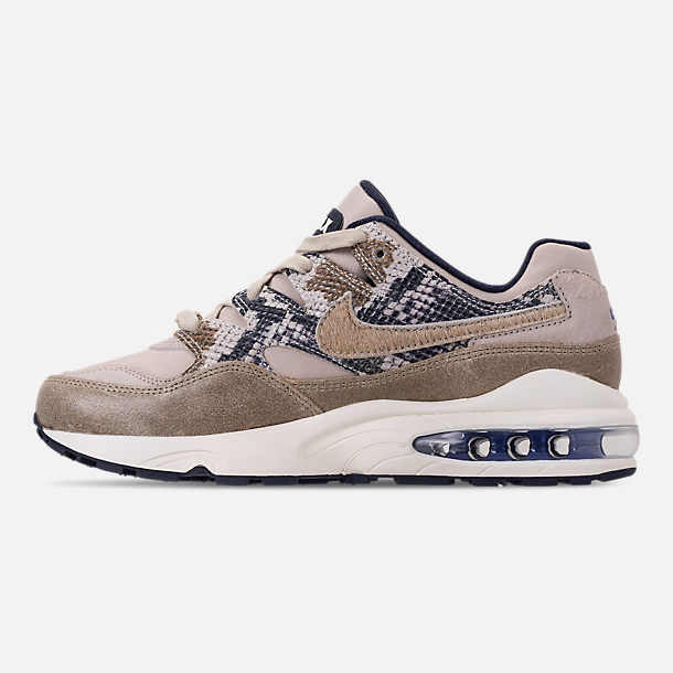 Left view of Men's Nike AIr Max 94 SOF Casual Shoes in Newsprint/String/Canteen/Cirrus Blue