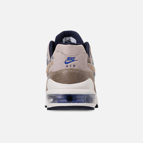 Back view of Men's Nike AIr Max 94 SOF Casual Shoes in Newsprint/String/Canteen/Cirrus Blue