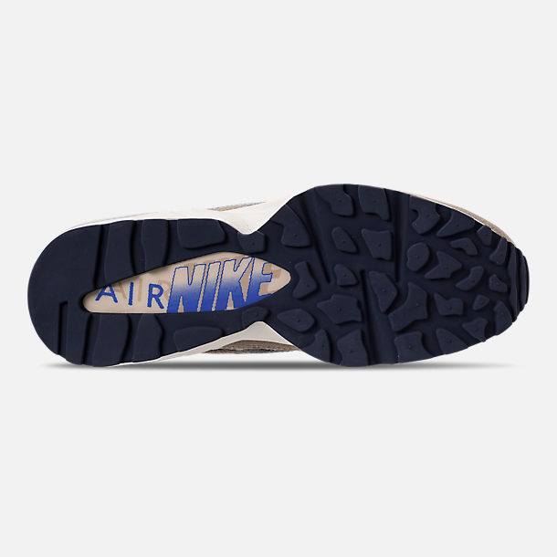 Bottom view of Men's Nike AIr Max 94 SOF Casual Shoes in Newsprint/String/Canteen/Cirrus Blue