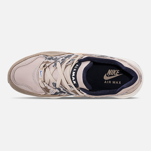 Top view of Men's Nike AIr Max 94 SOF Casual Shoes in Newsprint/String/Canteen/Cirrus Blue