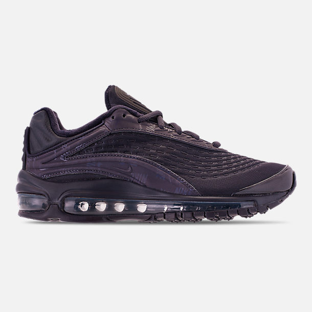 Right view of Women's Nike Air Max Deluxe SE Casual Shoes in Oil Grey/Oil Grey/Oil Grey
