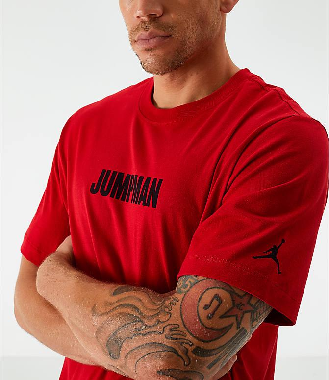 6e6c1b2be5905 Men's Jordan Jumpman Wordmark T-Shirt