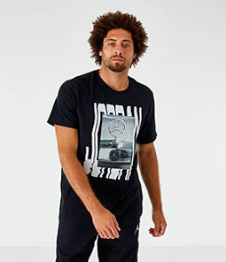 finest selection c6437 141bd Men s Jordan Wavy Photo T-Shirt