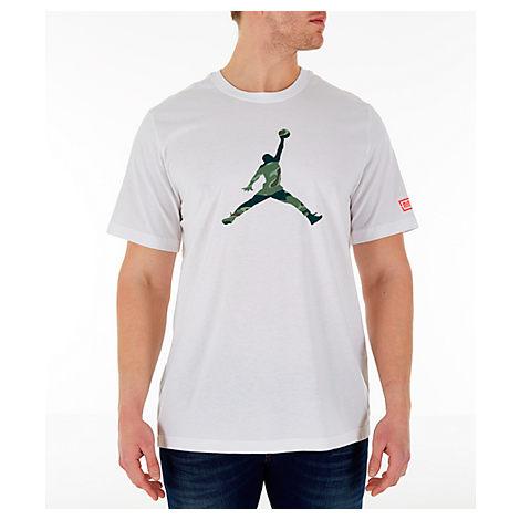 Nike T-shirts MEN'S JORDAN CITY OF FLIGHT T-SHIRT, WHITE