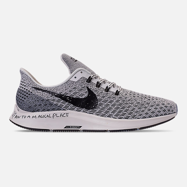 a7106b53dc59 Right view of Men s Nike Air Zoom Pegasus 35 Nathan Bell Running Shoes in  Sail