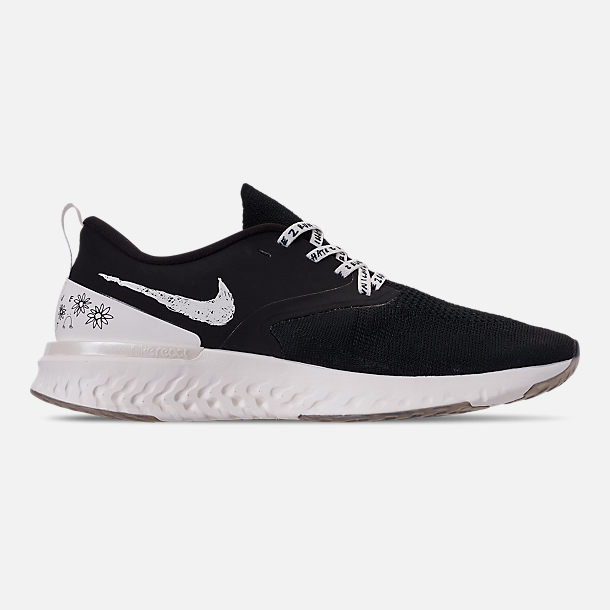 f4bd9f2d14a Right view of Men s Nike Odyssey React Flyknit 2 Nathan Bell Running Shoes  in Black