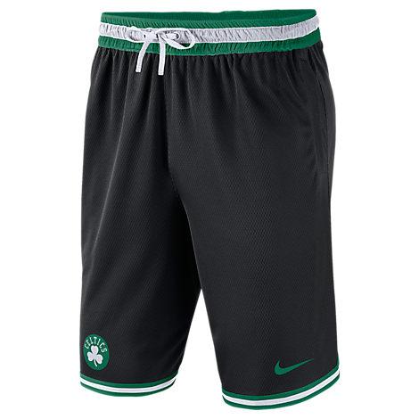 Nike Men's Boston Celtics Nba Dna Shorts In Black