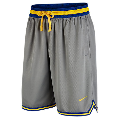 Nike Men S Golden State Warriors Team Dna Shorts In Grey Modesens