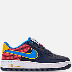 Boys' Big Kids' Nike Air Force 1 Now Casual Shoes