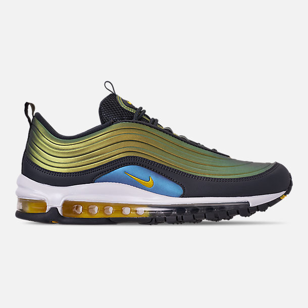 Right view of Men's Nike Air Max 97 LX Casual Shoes in Anthracite/Amarillo/Summit White