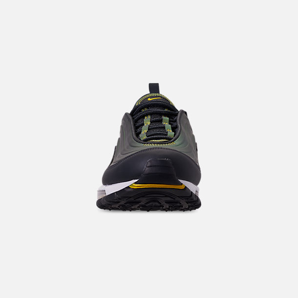 Front view of Men's Nike Air Max 97 LX Casual Shoes in Anthracite/Amarillo/Summit White