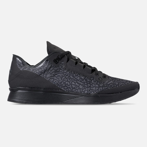 Right view of Men's Jordan '88 Racer Running Shoes in Black/Anthracite