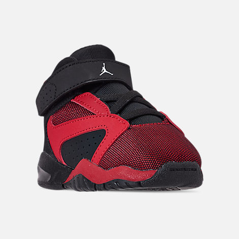 Three Quarter view of Boys' Toddler Air Jordan Lift Off Basketball Shoes