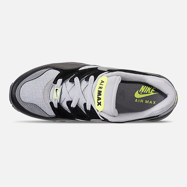 Top view of Men's Nike Air Max 94 Casual Shoes in Wolf Grey/Cool Grey/Black/Volt