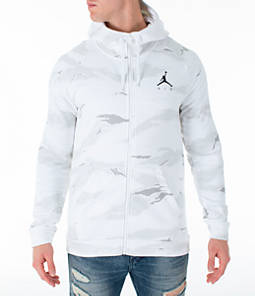 Men's Jordan Sportswear Camo Flight Fleece Full-Zip Hoodie