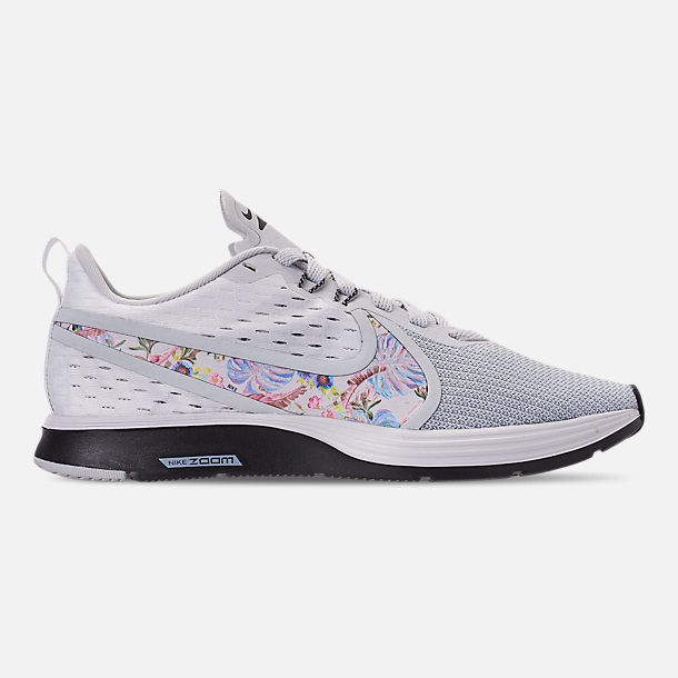 Right view of Women s Nike Zoom Strike 2 Premium Running Shoes in Pure  Platinum Multi d9d9193d6