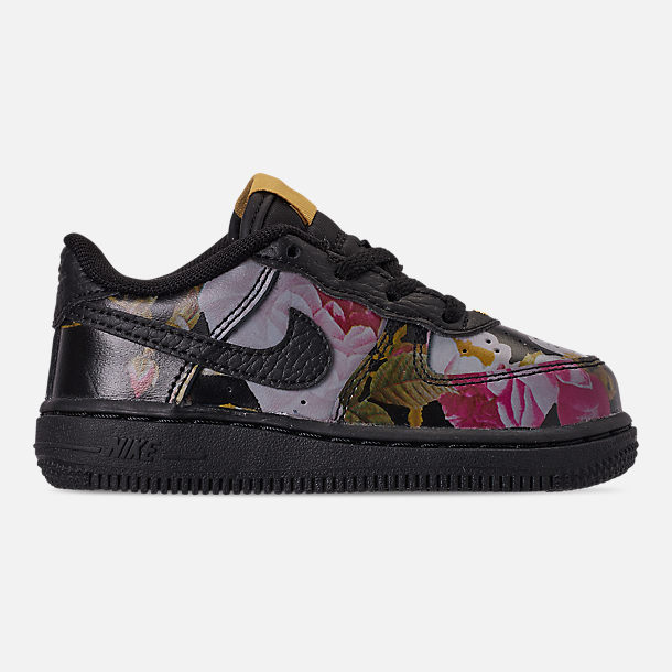 1d66034fc6bf Right view of Girls  Toddler Nike Air Force 1  07 LXX Casual Shoes in
