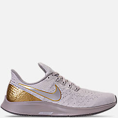 6c1a73cf20f8 Women s Nike Air Zoom Pegasus 35 Premium Metallic Running Shoes
