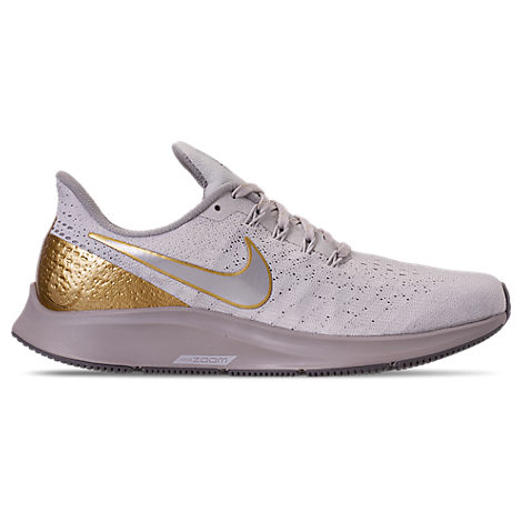 Women'S Air Zoom Pegasus 35 Premium Metallic Running Shoes, Grey