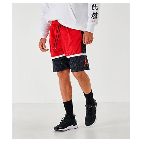 Nike Jordan Men's Jordan Jumpman Speckle Basketball Shorts In Red