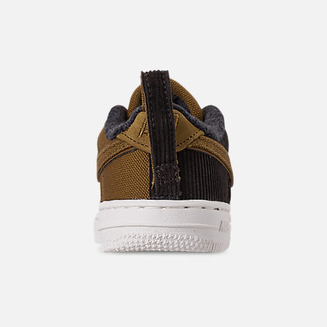 Back view of Boys' Toddler Nike Air Force 1 '07 Premium x Carhartt WIP Casual Shoes