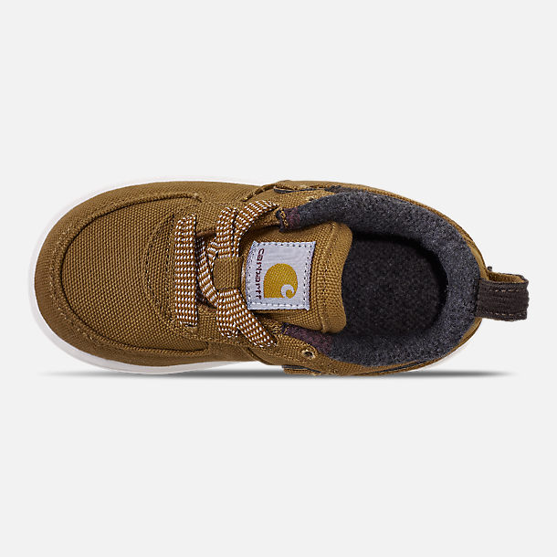 Top view of Boys' Toddler Nike Air Force 1 '07 Premium x Carhartt WIP Casual Shoes