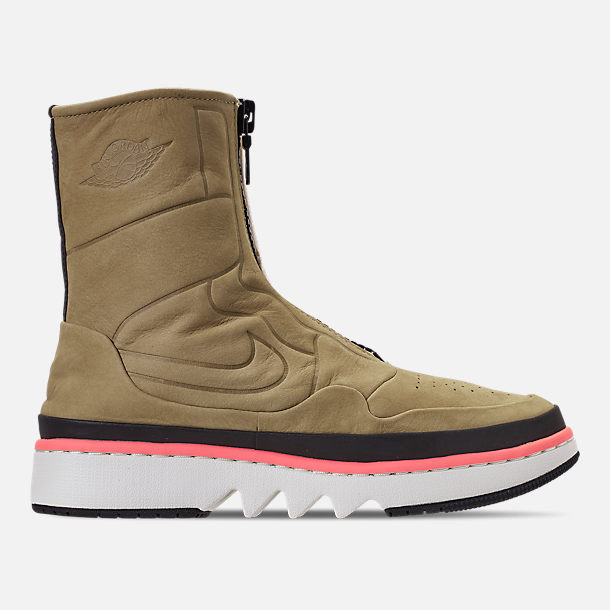 Right view of Women's Air Jordan 1 Jester XX Utility Casual Shoes in Parachute Beige/Black